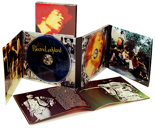 "Jimi Hendrix The Jimi Hendrix Experience Electric Ladyland Delux Edition (CD + DVD) Формат: CD + DVD (DigiPack) Дистрибьюторы: ООО ""Юниверсал Мьюзик"", Geffen Records Inc , Experience инфо 13143c."